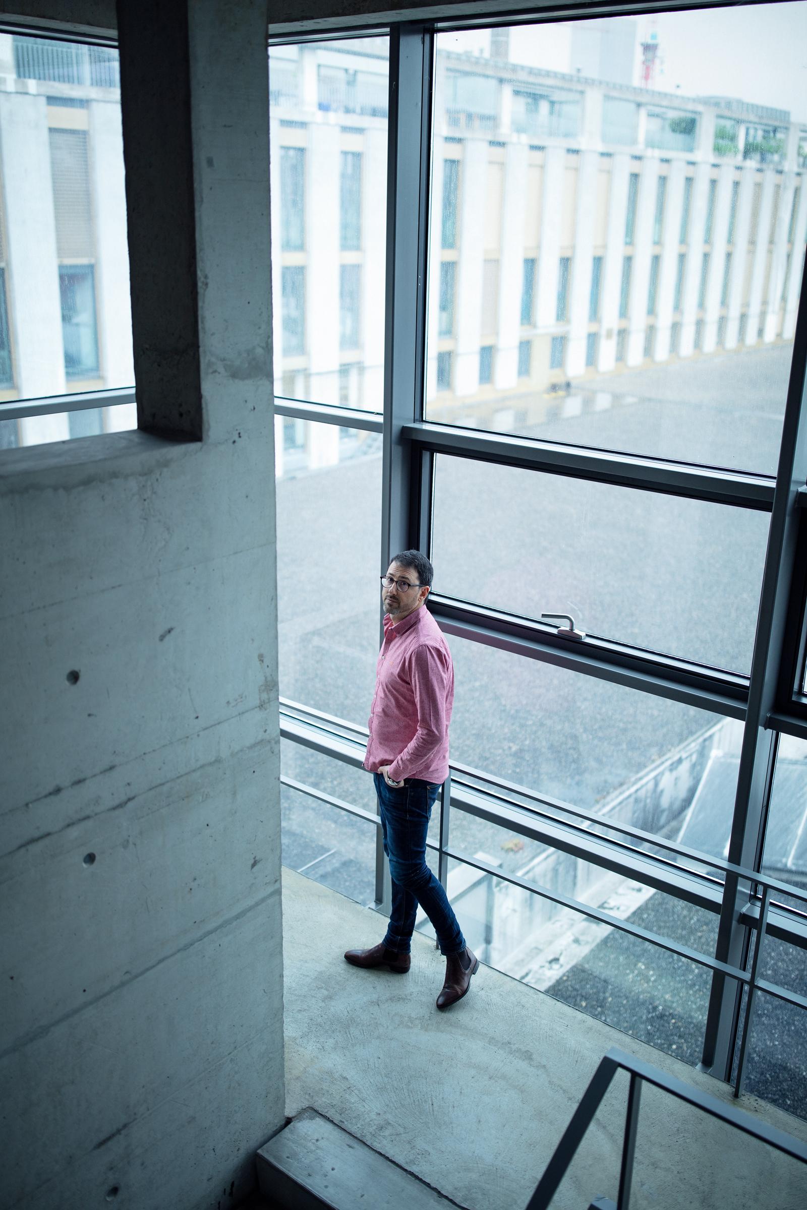 Porträt von Simon Brunner